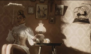 """Beyoncé, preparing to """"twirl on dem haters"""" in the video for her new single, Formation"""
