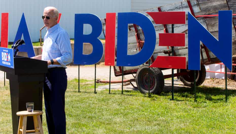 The attacks on Biden echo Trump's strategy against Hillary Clinton in 2016.