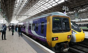 Trains at Manchester Piccadilly station