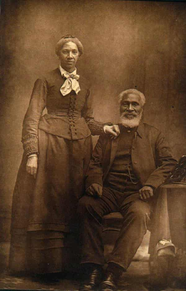 Rev. Josiah Henson and his wife Nancy. After he escaped to Canada in October 1830, Rev. Henson aided more than 600 slaves to freedom. He founded a settlement and school for other fugitive slaves called the Dawn Settlement in Ontario.