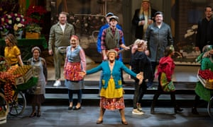 Brendan O'Carroll as Mrs Brown (centre) in Mrs Brown's Boys D'Musical at the Hydro, Glasgow.