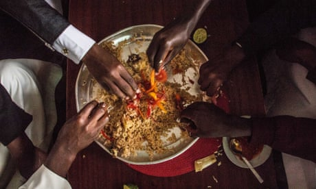 Eating and drinking in Africa's largest slum – in pictures