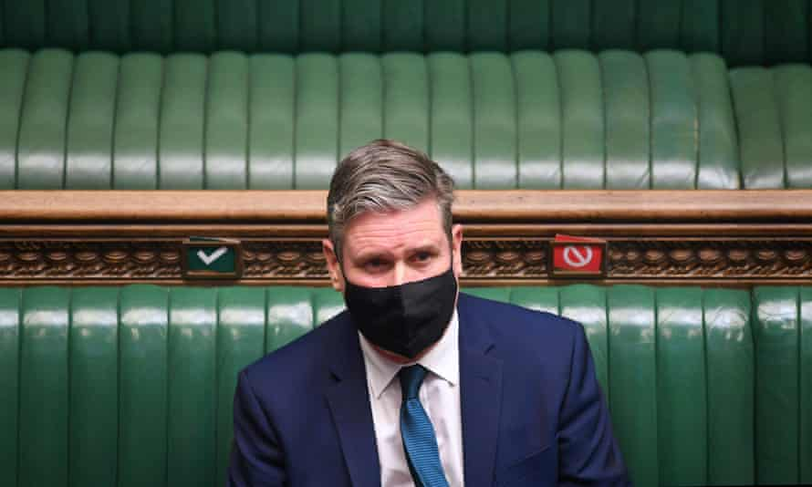 A spokesperson said Keir Starmer 'was already doing daily tests' and had tested negative on Wednesday morning.