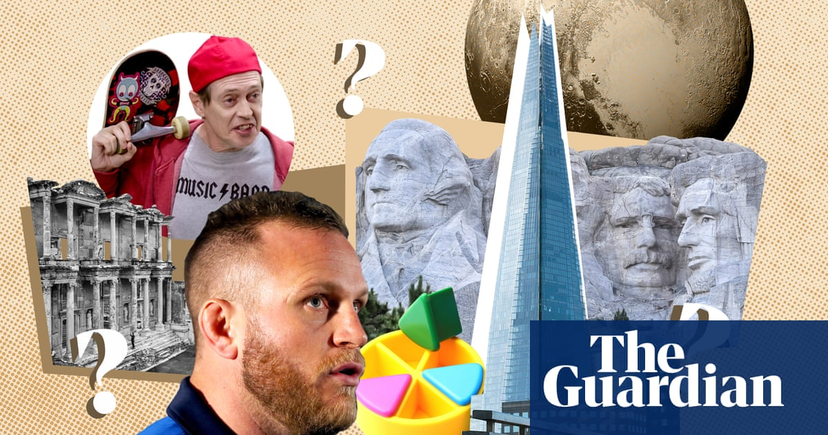 Tall buildings, wrestling monarchs and window ledges: take the new weekly quiz