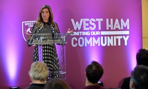 West Ham's vice-chair Karren Brady has said there are 'a lot of obstacles' to restarting the season.