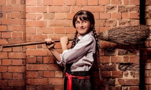 Toil and trouble ... Danielle Bird as Mildred Hubble in The Worst Witch.