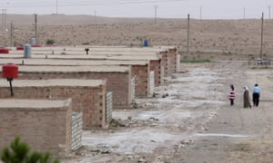 The al-Hol camp in north-eastern Syria where Shamima Begum was discovered in 2019.