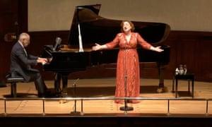 soprano Ailish Tynan and pianist Iain Burnside