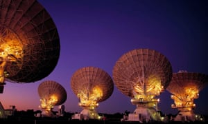 Astronomers studied the cosmic microwaves with the Australia Telescope Compact Array in New South Wales