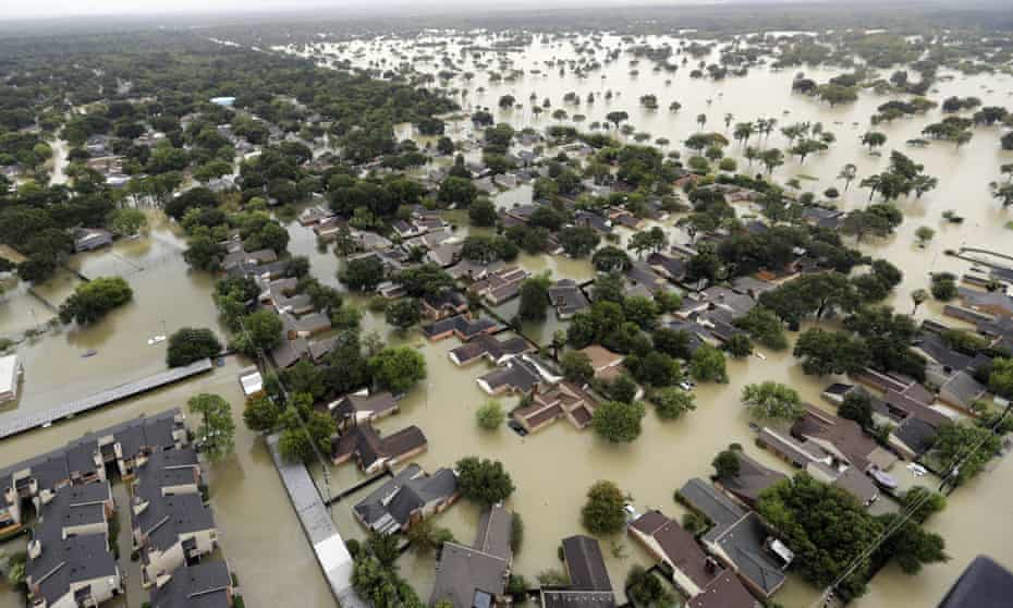 Houston's water has been polluted by a variety of dangerous chemicals following the hurricanes.