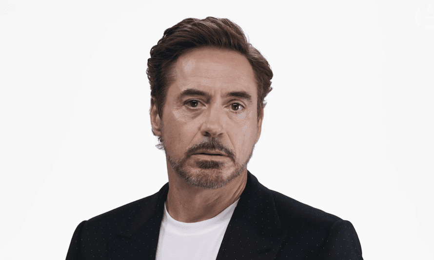 Wryly amused at Donald Trump … is it enough? Robert Downey Jnr in the video.