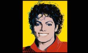 Michael Jackson by Andy Warhol 1984.