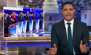 """Trevor Noah on the Democratic debate in South Carolina: """"It was wild...I haven't seen white people go that hard since khakis were on sale at Banana Republic."""""""