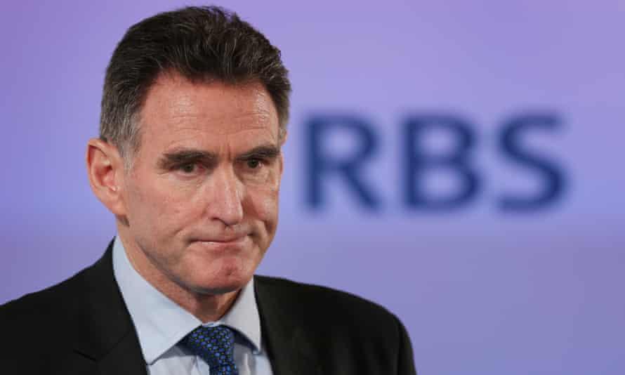 Ross McEwan, the CEO of RBS