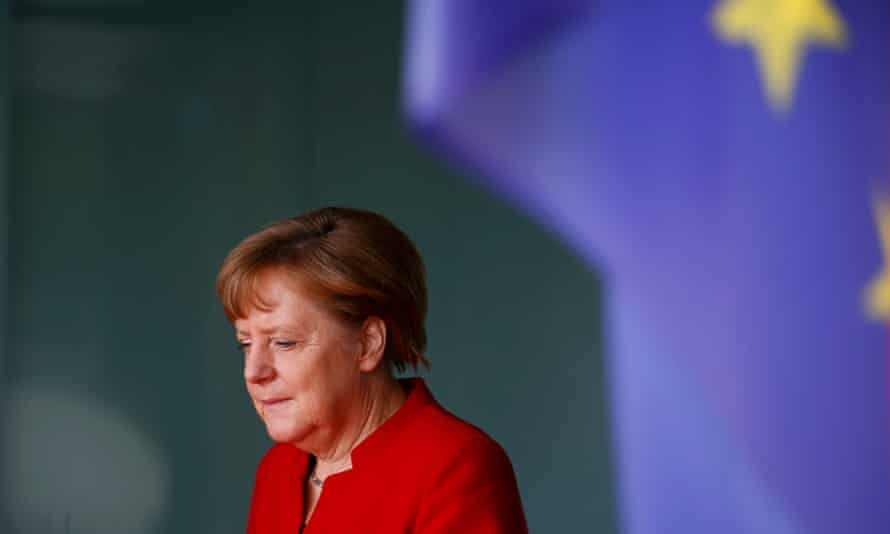 Angela Merkel in Berlin.
