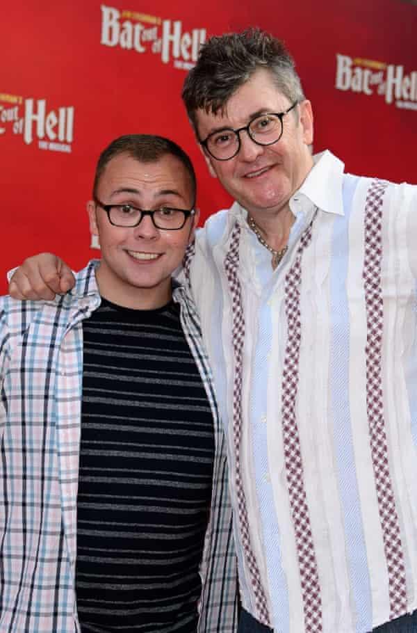 Joe Tracini with his dad, Joe Pasquuale