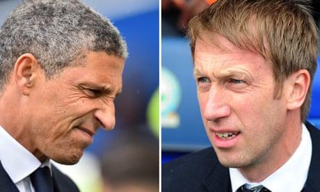 Brighton target Swansea's Graham Potter after sacking Chris Hughton