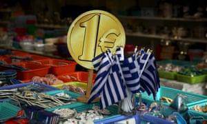 €1 Greek souvenir shop