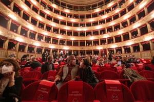 Rome, ItalyThe Argentina Theatre reopens