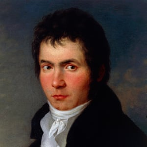 An undated portrait of Beethoven.