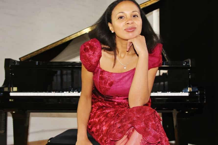 Discovering untapped riches … series founder, the Nigerian-Romanian pianist Rebeca Omordia.