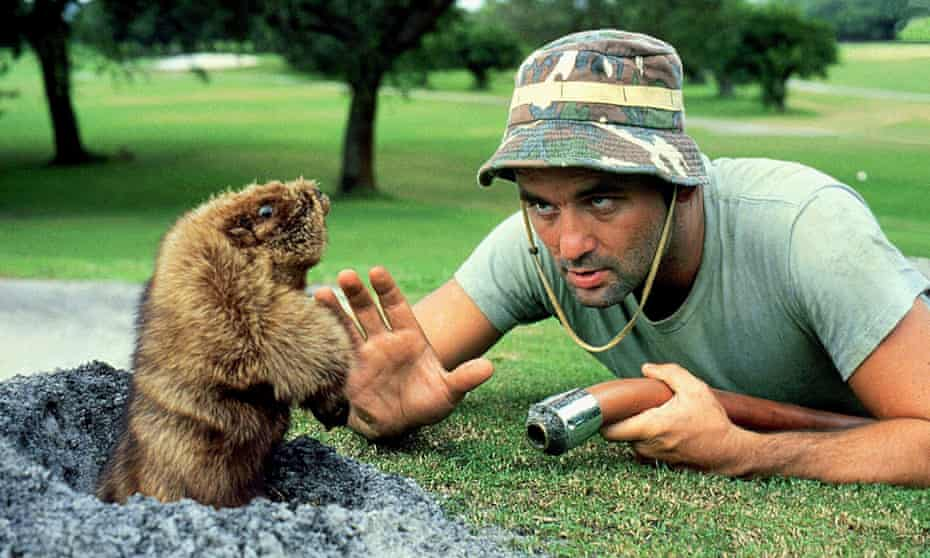 'Have you got a spare four hours?' Bill Murray in Caddyshack