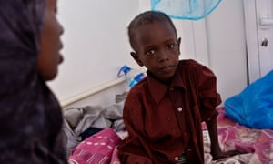 Somali refugee Saalax Abdi Muxemed, nine