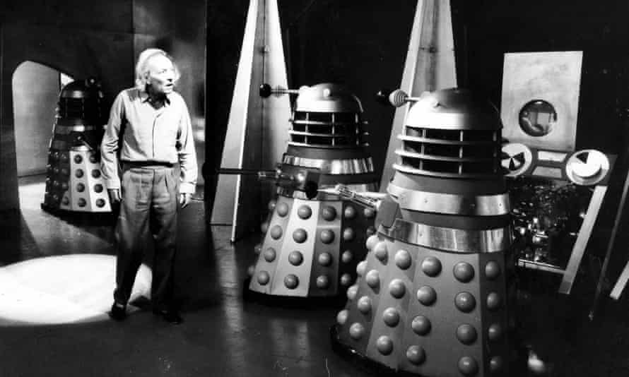 William Harnell as the Doctor takes on the Daleks in 1963's Survivors.