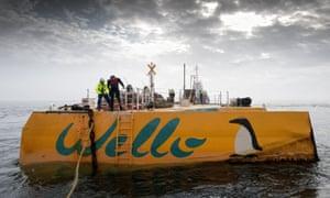 Wave energy converter off Orkney