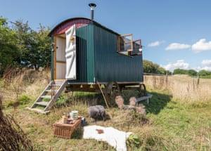 Jo's Shepherd's Hut – owned by Greg Whale