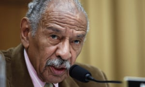 John Conyers said he looked forward 'to vindicating myself' before the House ethics committee.