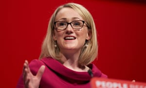 Rebecca Long-Bailey delivers a speech