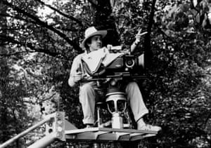1979 shooting 'Luna' in Venice