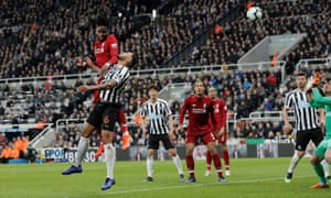Divock Origi headed Liverpool's late winner at Newcastle but they were once again a point behind after Manchester City's game with Leicester