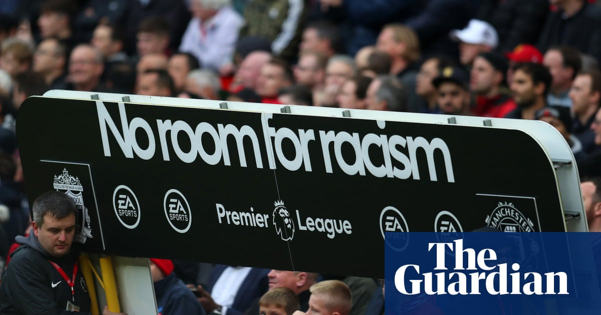 Supporter ejected for alleged racist abuse during Manchester United v Liverpool