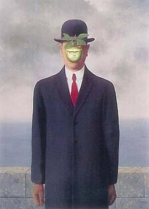 The Son of Bran (after Rene Magritte)