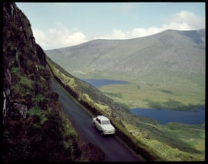 Connor Pass Dingle Peninsula Co. Kerry, photograph by R. Beer