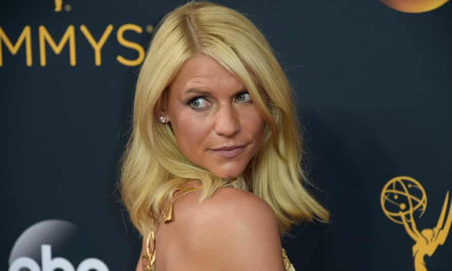 Claire Danes at the Emmy's