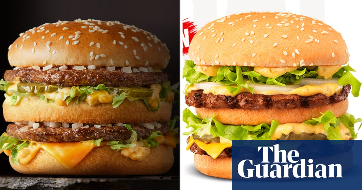 Legal bunfight: McDonald's accuses Hungry Jack's of ripping off Big Mac – The Guardian