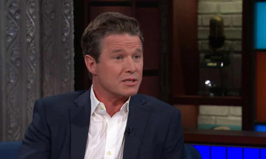 Billy Bush on CBS' The Late Show with Stephen Colbert Monday night.