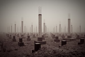 Cemetery of the 21st Century by Petr Starov,  Ryazan, Russia