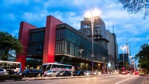 The São Paulo Museum of Art (MASP).