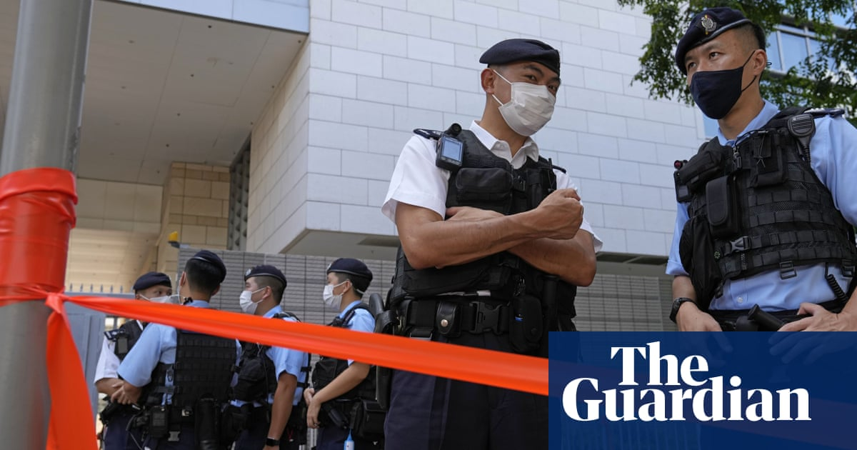 Five arrested in Hong Kong for sedition over children's book about sheep