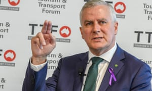 Michael McCormack says pensioners 'will be shivering all winter, and they'll be melting all summer' if Australia's electricity grid is powered by renewables
