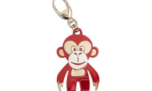 Dior's 'year of the monkey' keyring, one of several Chinese new year items made by high-fashion brands this year.