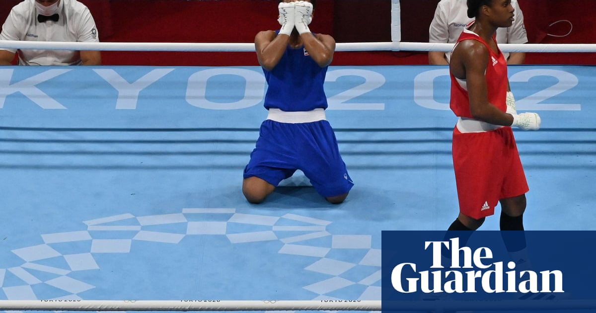 Team GB boxer Caroline Dubois out of Olympics after losing quarter-final