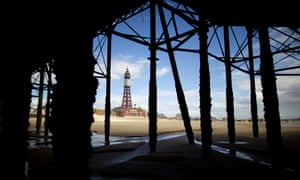 Blackpool Tower in Lancashire