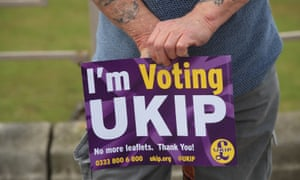 The rise of Ukip was an 'electoral shock' – along with the 2008 crash and the Scottish referendum.