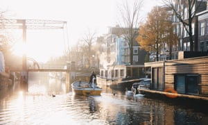 The Plastic Whale runs sustainable tours of Amsterdam's canals