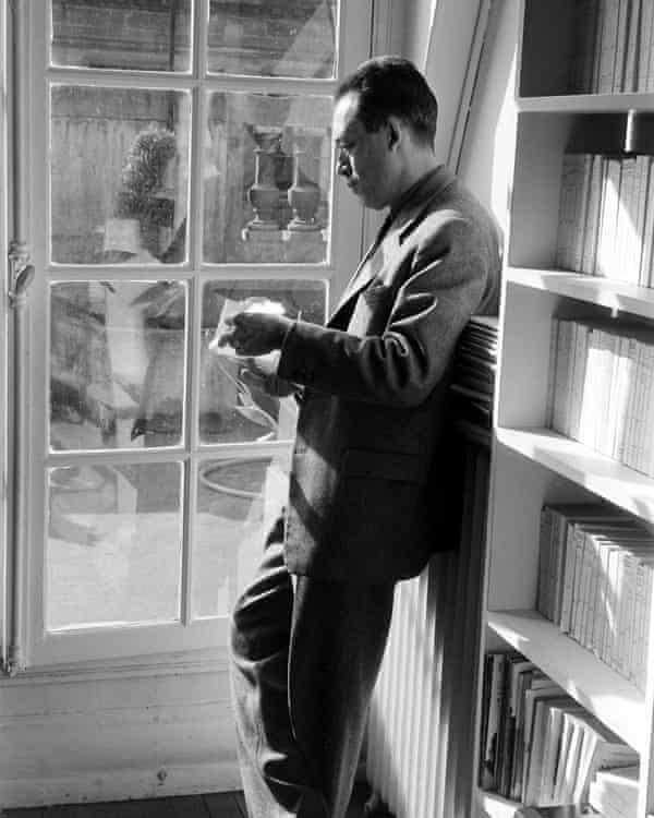 French existentialist philosopher Albert Camus.